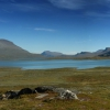 Kungsleden Panorama in Lappland, Schweden